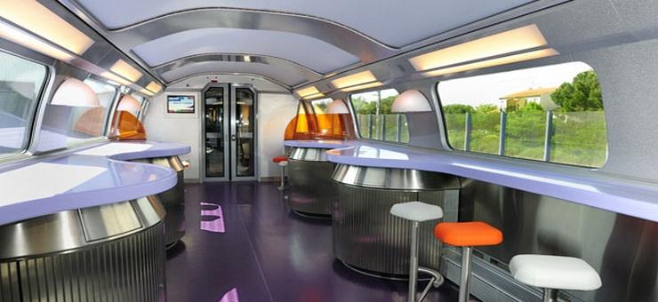Bord Restaurant TGV Duplex